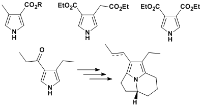 Some 3,4-disubstituted pyrroles